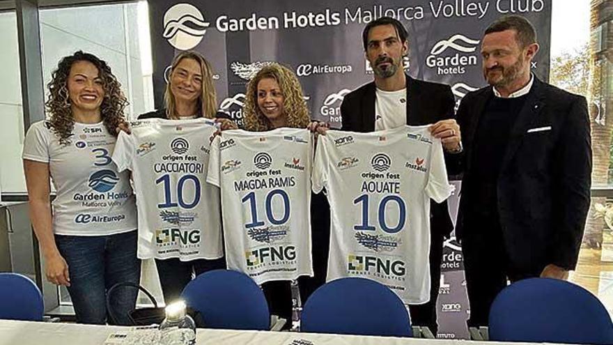 El Garden Hotels Mallorca Volley Club aterriza en Inca