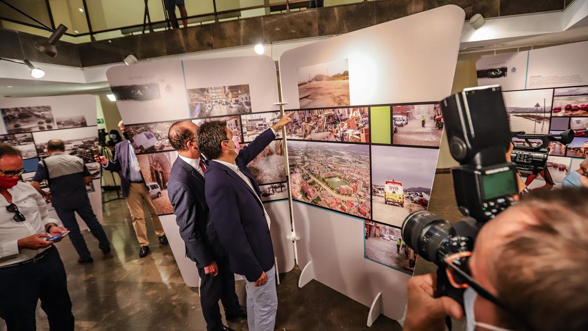 Imagen de la exposición abierta hoy en Orihuela hasta el 8 de octubre