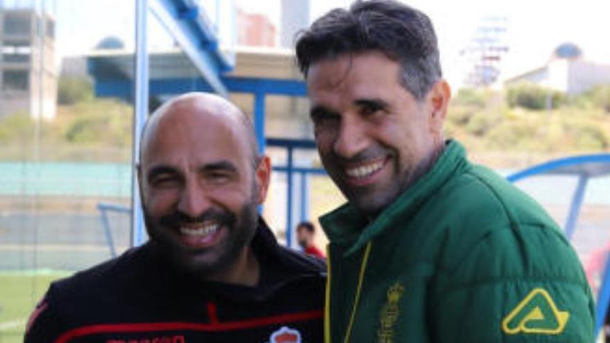 Valerón y Manuel Pablo se estrenan como tándem técnico en el filial del Dépor