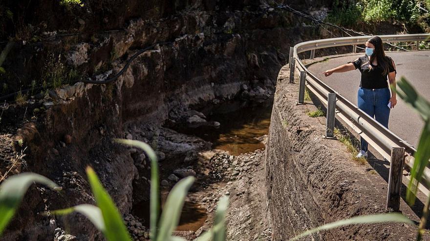El Cabildo de Tenerife aportará casi un millón de euros para canalizar  la zona de El Regente