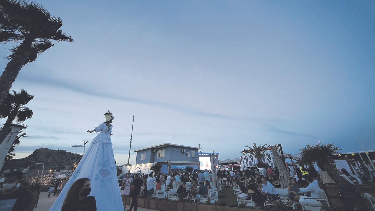 Ocean Grupo Marcos cuenta con más de 3.000 metros cuadrados al aire libre.
