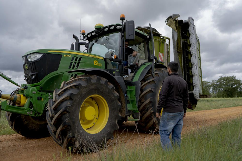 Los labradores y ganaderos piden precios justos.