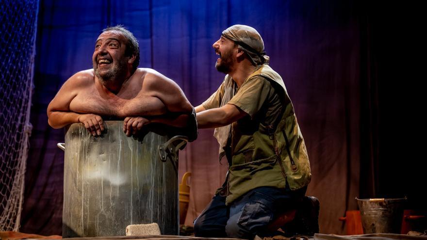 La compañía Samarkanda estrena 'La Vaca' en el López de Ayala