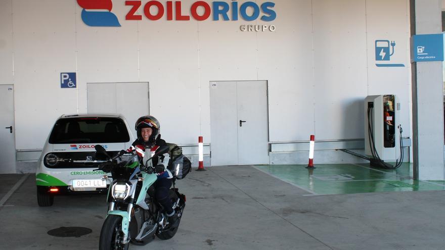 Alicia Sornosa visita Zaragoza: Un viaje solidario y cero emisiones