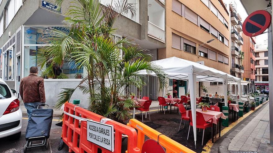 La calle Santa Clara, un ejemplo de la futura peatonalización en la capital