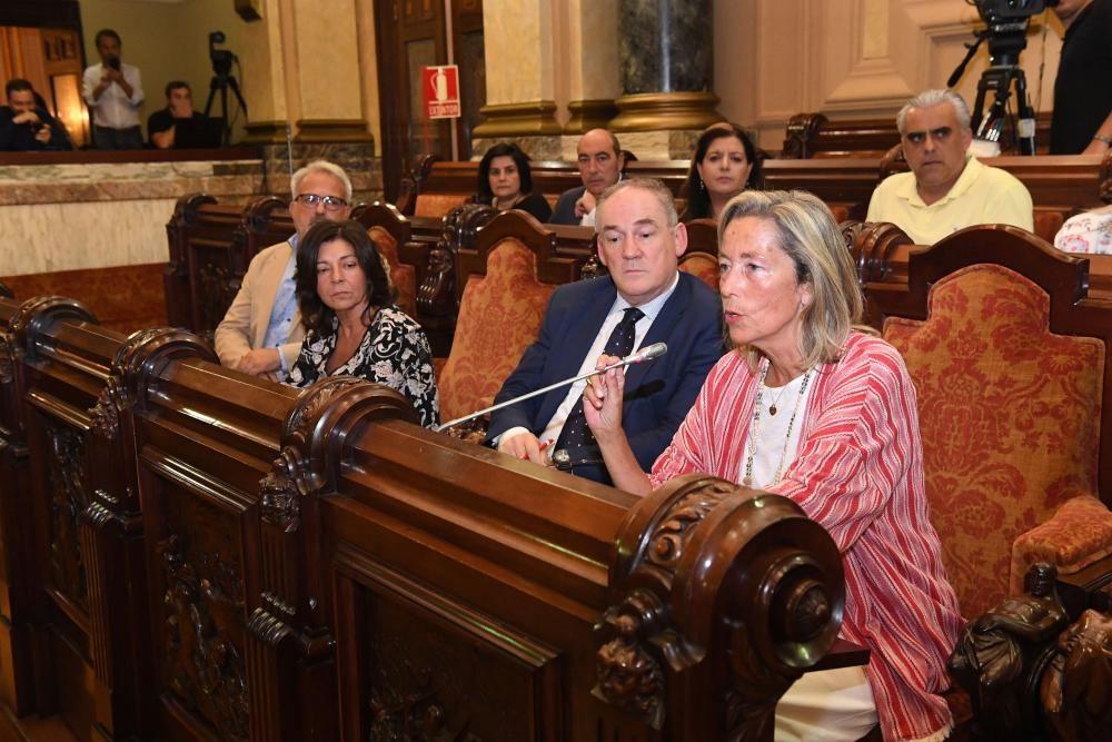 La oposición exige en el pleno dimisiones por el concurso de vivienda