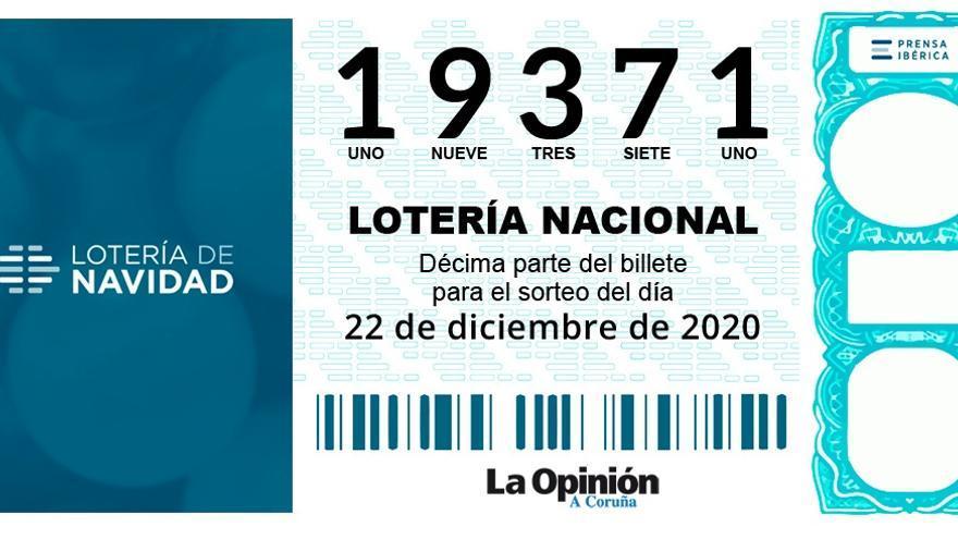 Lotería de Navidad | Repartidos 60.000 euros en el quinto premio vendido en Lourenzá