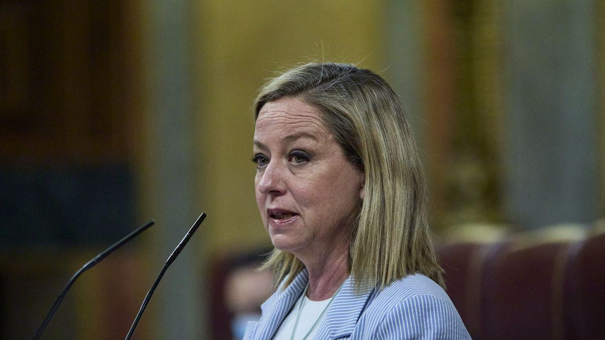 La diputada de Coalición Canaria, Ana Oramas, interviene en una sesión plenaria en el Congreso.
