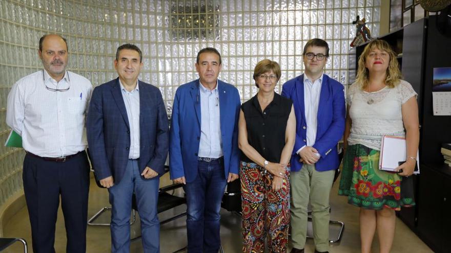 Aqualia y Apia dotan una beca de prácticas en Levante-EMV