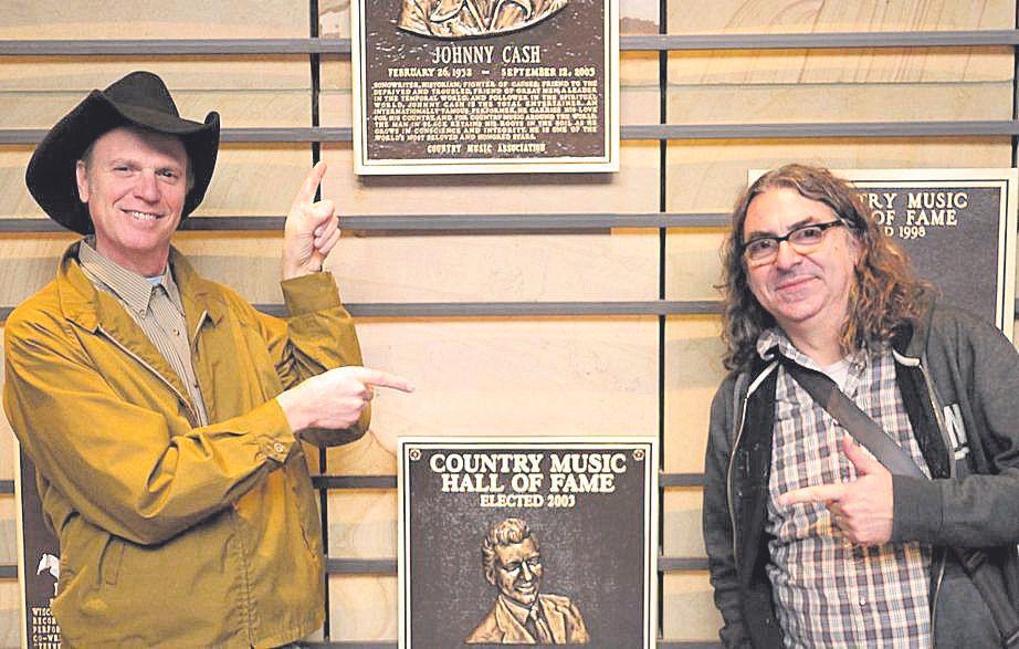 Con Jason Ringenberg en el Country Music Hall of Fame.