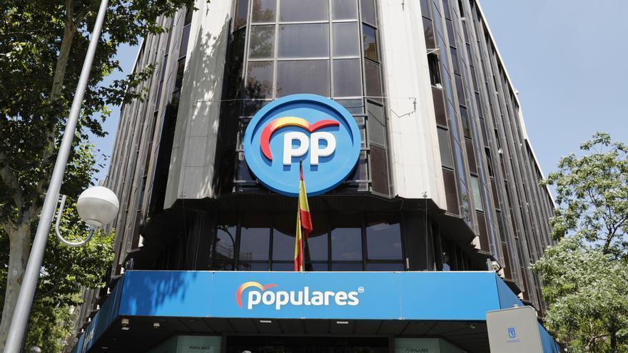 La Policía confirma que el PP pagó parte de la obra de su sede con la caja B