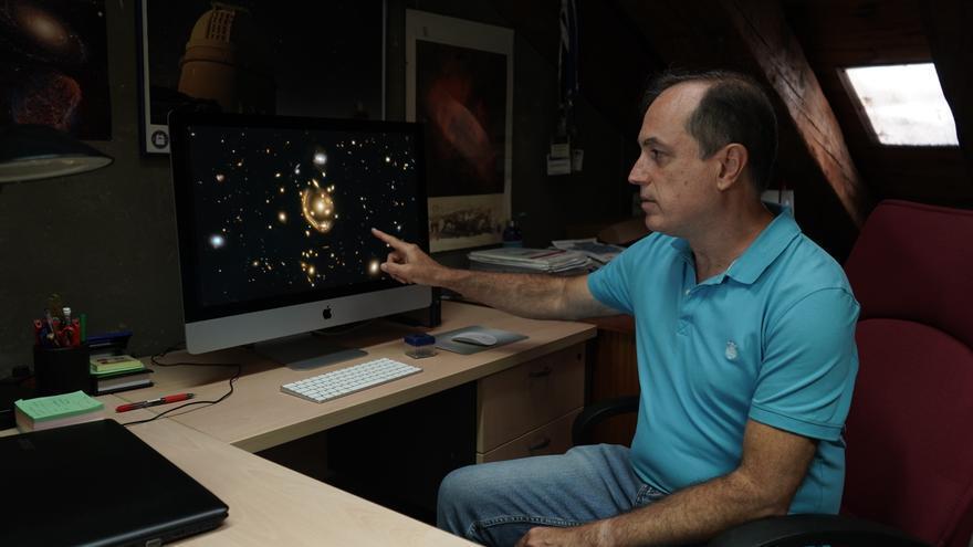 La UPCT consigue calcular la distancia del 'Anillo Fundido' de Einstein