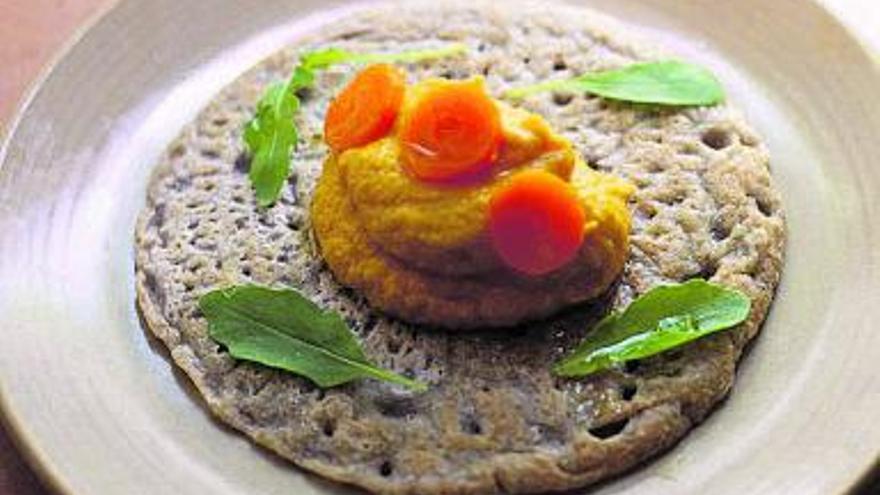Cocina fresca | Hummus de zanahoria