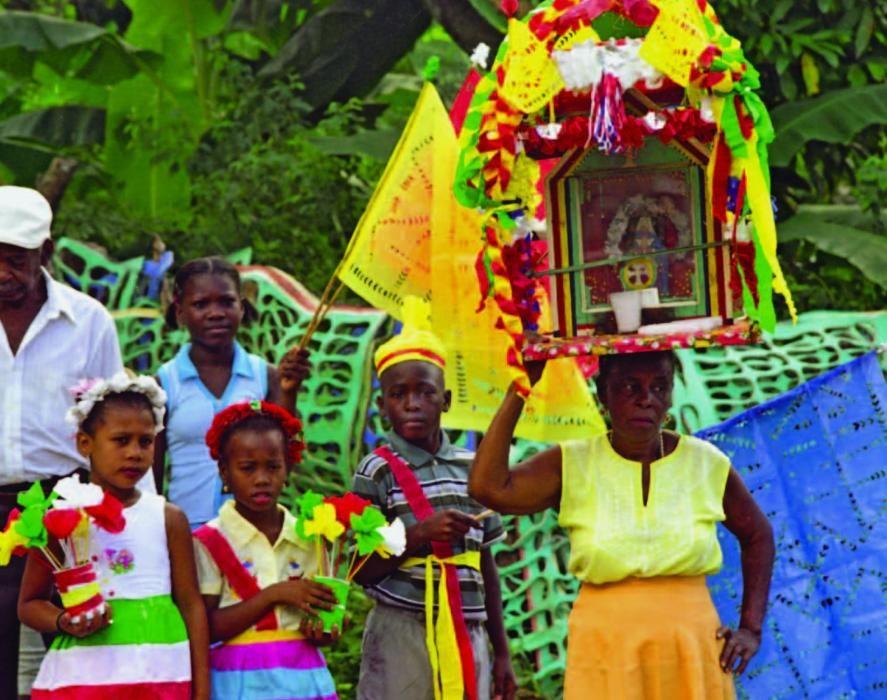 República Dominicana - El espacio cultural de la Cofradia del Espíritu Santo de los Congos de Villa Mella.