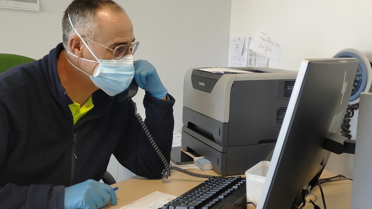 Julio Real, coordinador del Centro de Salud de Moneterio