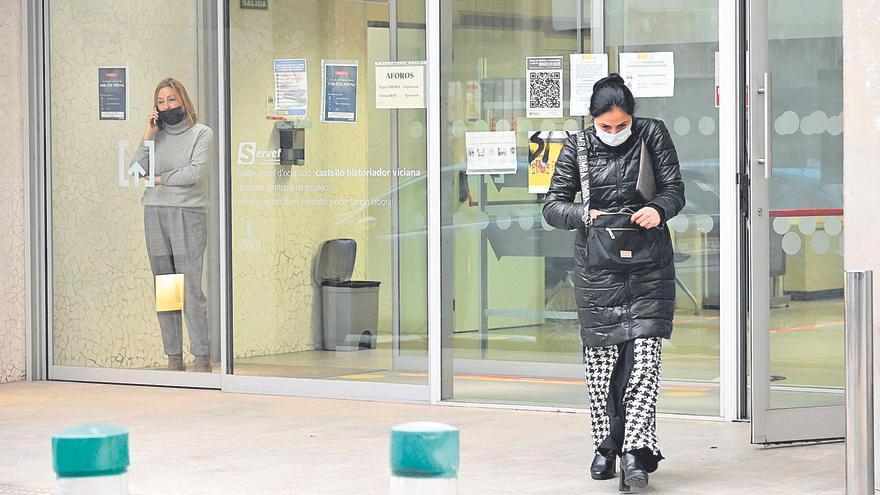 El año de pandemia destruye 474 empleos y suma 5.503 parados en Castellón