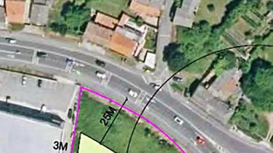 Carreteras acepta reducir la afección de la Nacional VI a una finca en Iñás