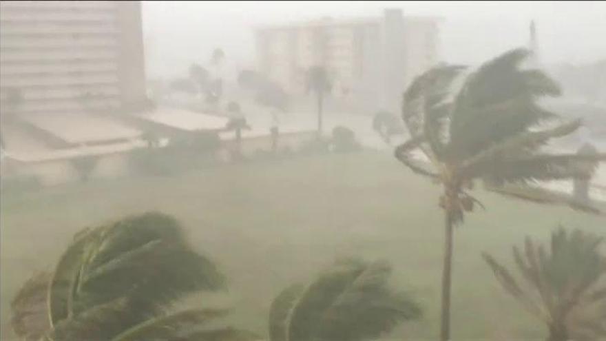 La tormenta tropical 'Gordon' avanza hacia el golfo de México