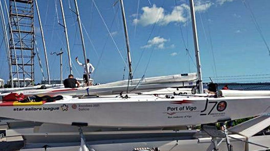Chuny Bermúdez guía el barco español en la Star Sailor League