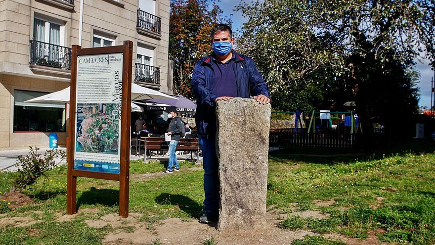 """Cambados salva un """"marco"""" con más de 400 años de historia"""