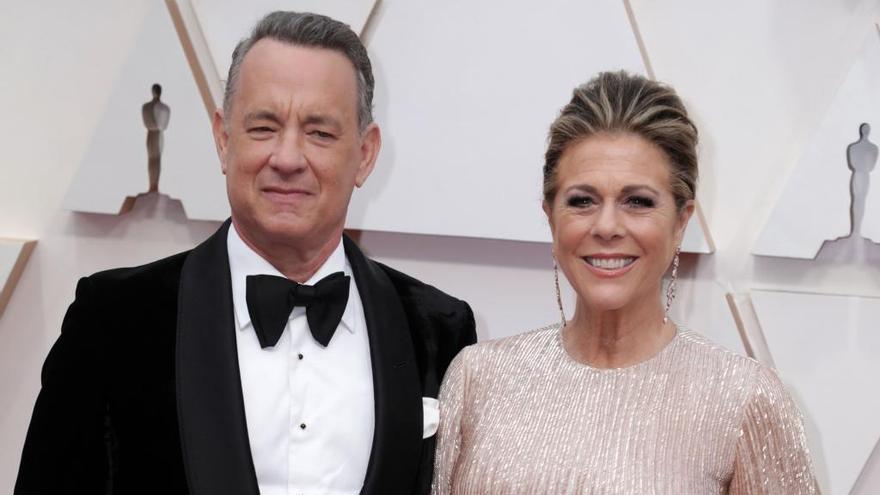 Tom Hanks y Rita Wilson dan positivo en coronavirus