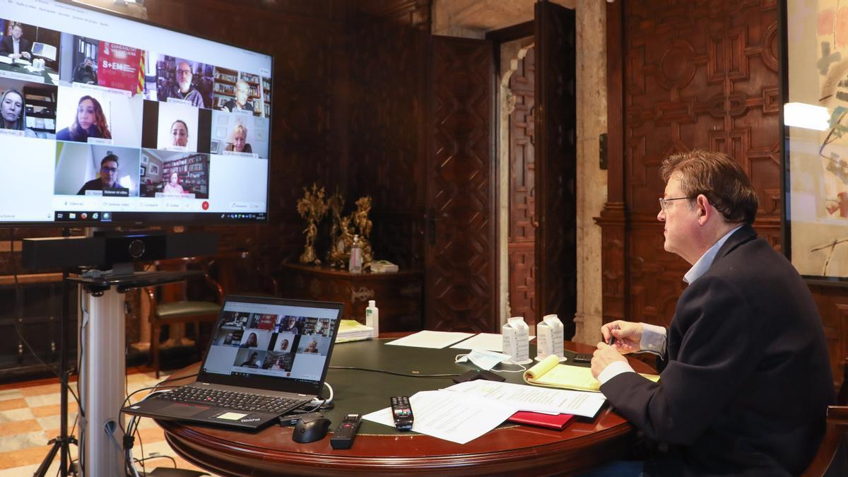 La Generalitat limita a los convivientes las reuniones en las casas