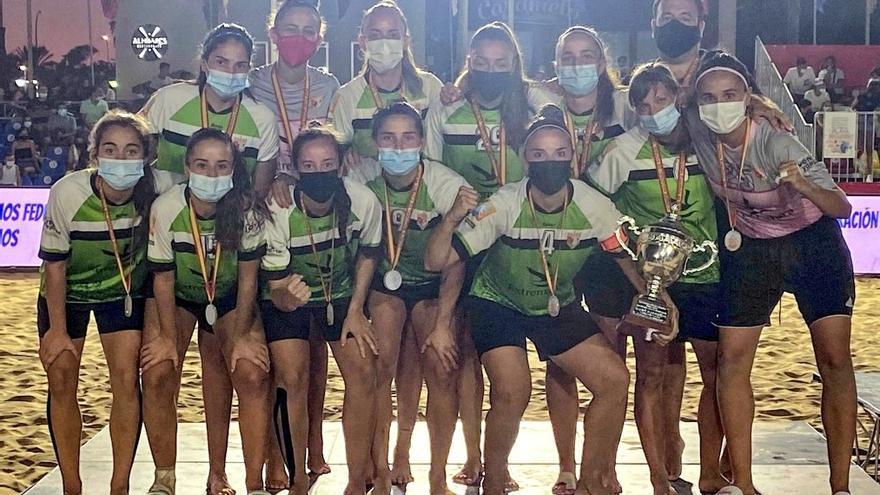 El Cacereño Femenino pierde la final de la Copa RFEF