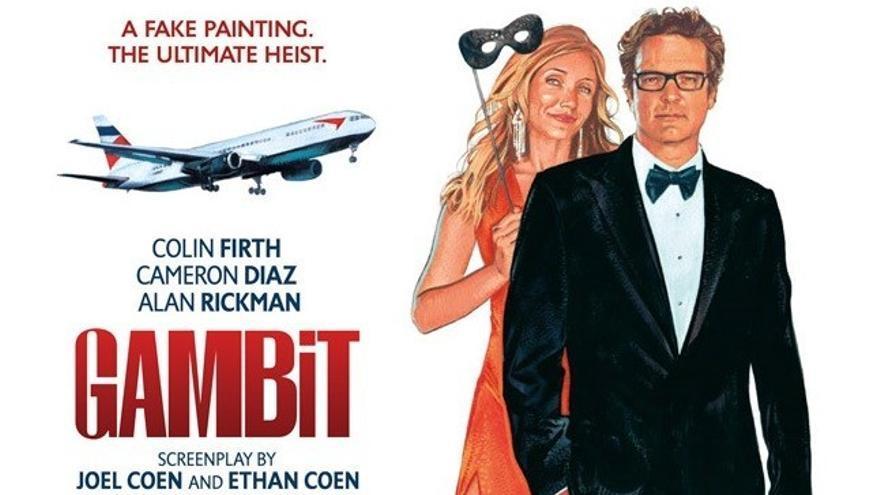 Cinema a la Fresca 2020: Un pla perfecte (Gambit)