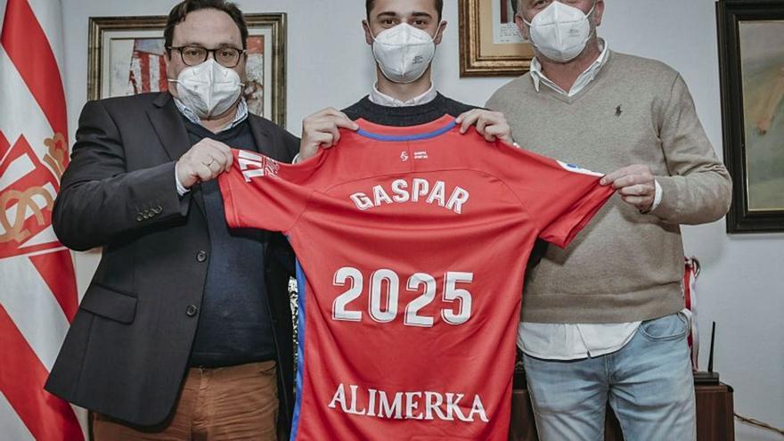 Gaspar, también hasta 2025