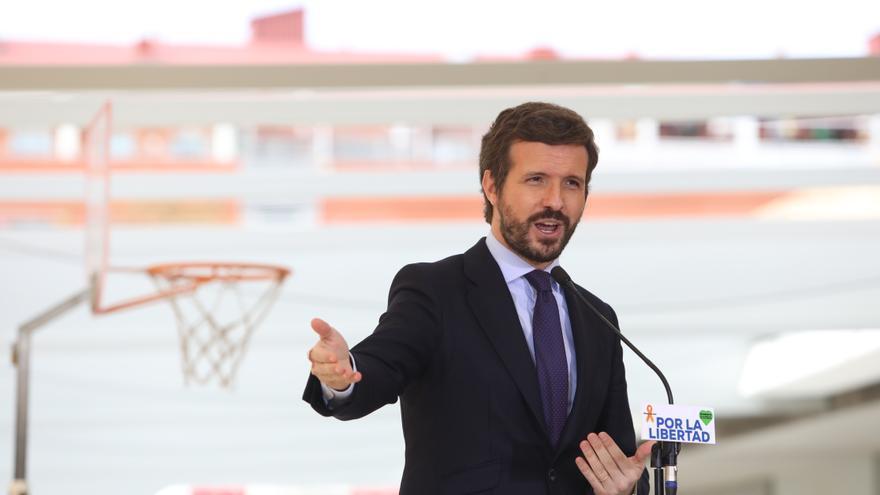 """Casado recurre la ley Celaá ante el Constitucional y la califica de """"ataque a la libertad"""""""