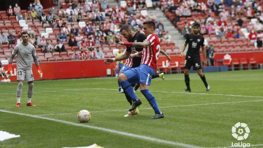 EN DIRECTO: Djuka empata para el Sporting frente al Málaga