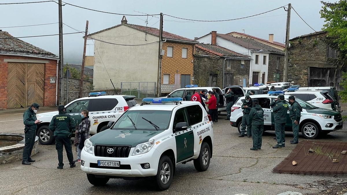 Batida en Figueruela de Arriba para localizar al hombre de 72 años desaparecido