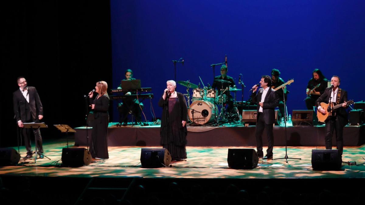 Concierto de Mocedades en Vigo en 2018