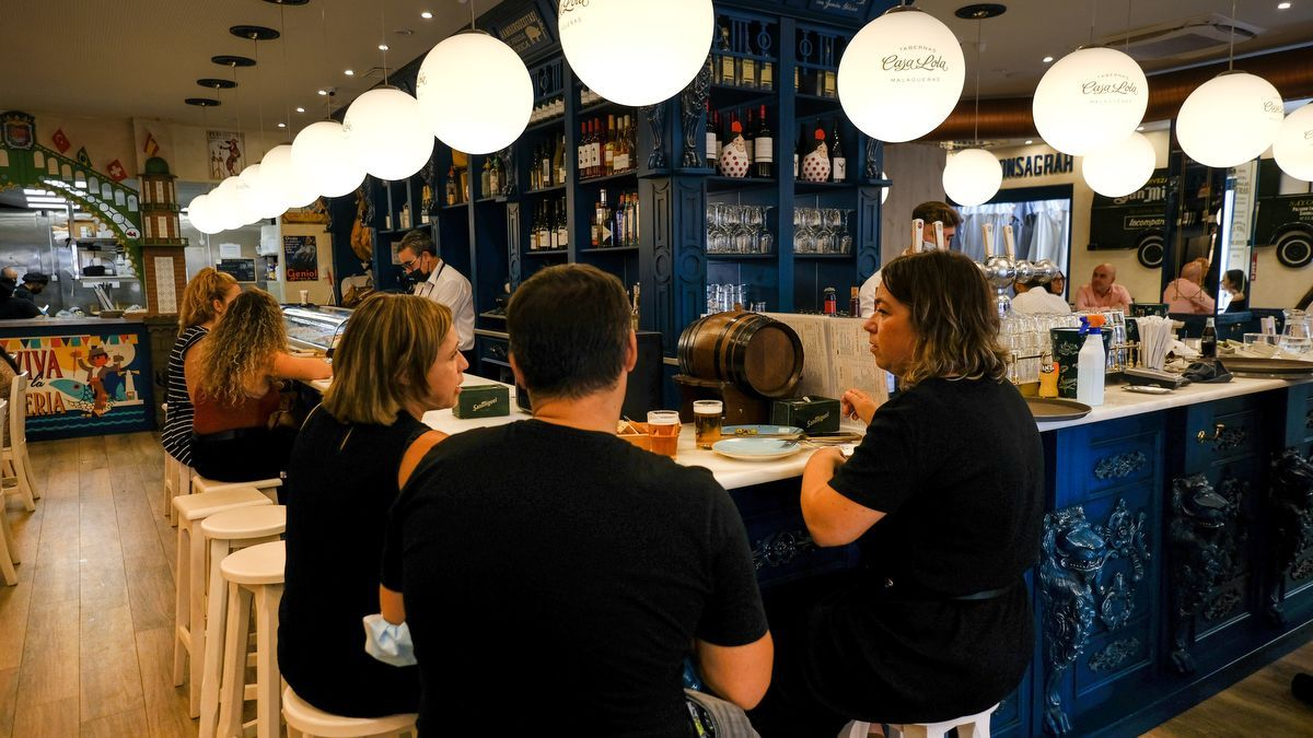 Primer fin de semana de la nueva normalidad en Málaga