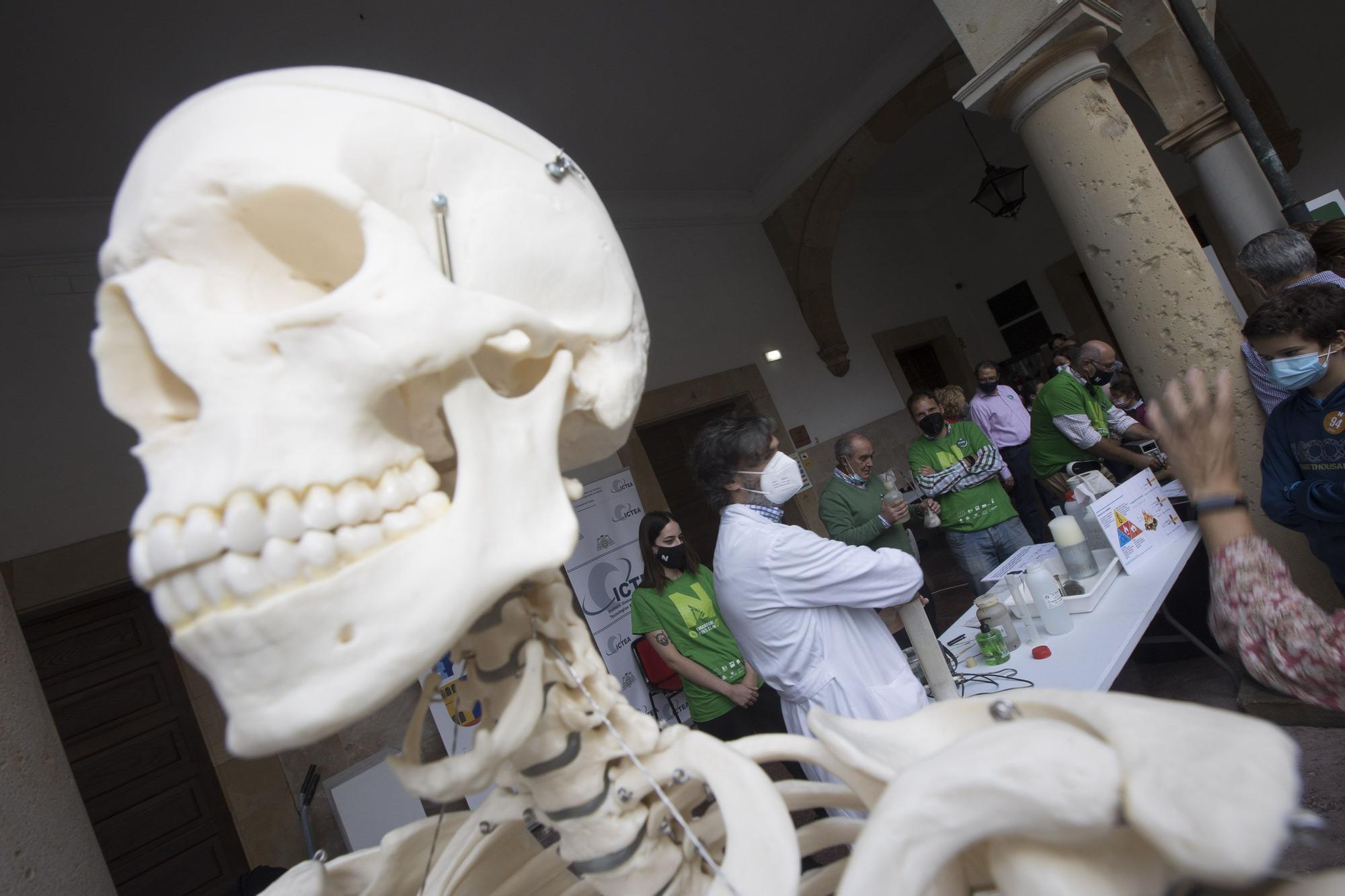 Así ha celebrado la Universidad de Oviedo la Noche europea de los investigadores