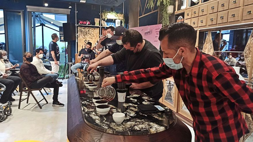 El mejor café asturiano se hace el sueco