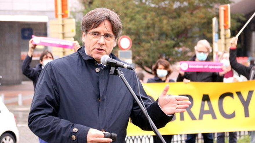 Puigdemont creu que la confrontació la posa l'Estat