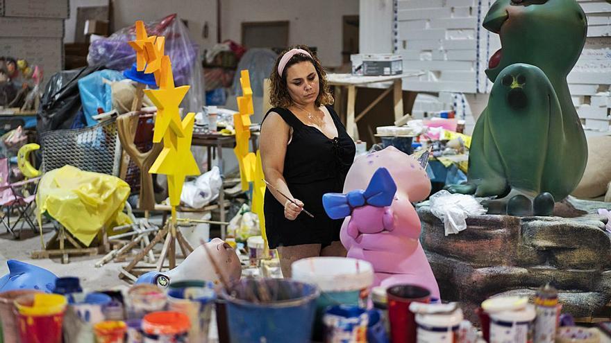 Las mujeres solo representan el 5%  del Gremio de Artistas Falleros