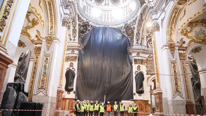 Málaga destina más de medio millón a restaurar Los Mártires