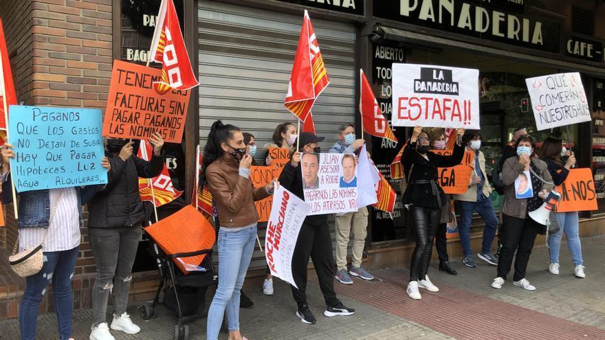 La plantilla de La Panadería inicia una huelga indefinida hasta cobrar las nóminas atrasadas