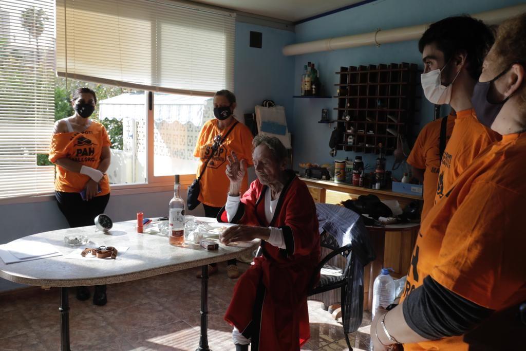 Paralizan el desahucio de un anciano con demencia senil y un cáncer terminal en Palma