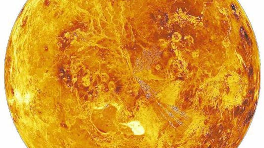El misterio de la vida viaja a Venus