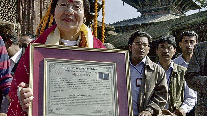 Fallece la japonesa Junko Tabei, primera mujer que escalo el Everest