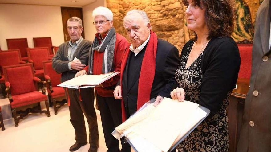 A RAG custodia as cartas de dous presos antifranquistas sentenciados a morte