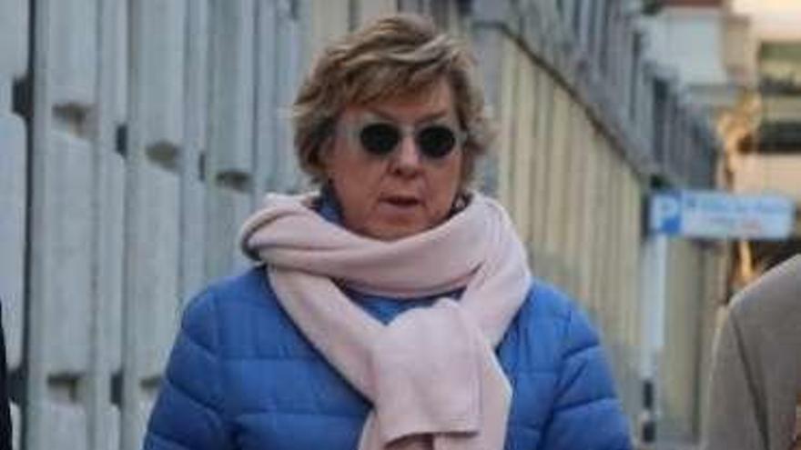 La Fiscalía pide el archivo de la causa contra la senadora Barreiro, del PP