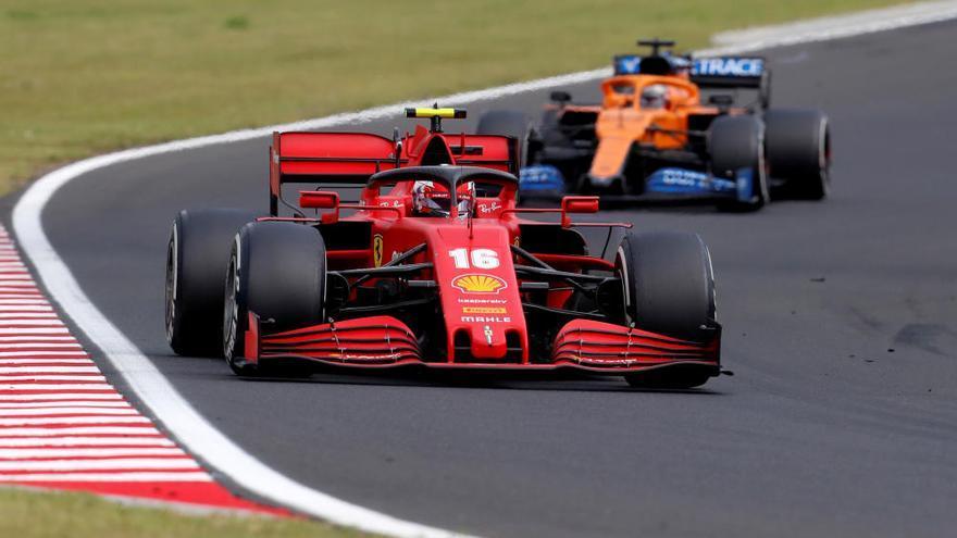 Lewis Hamilton arrasa en Hungría y se pone líder