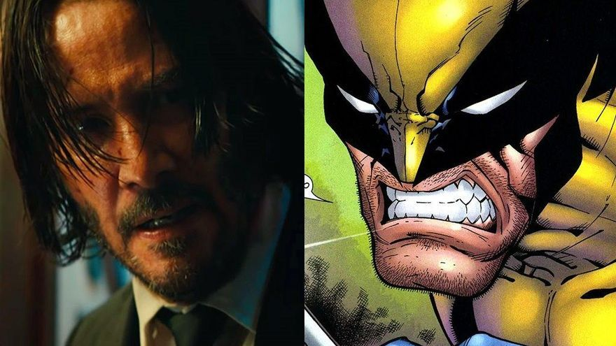 Keanu Reeves, el nuevo Lobezno en X-Men de Marvel en un 'fan-art'