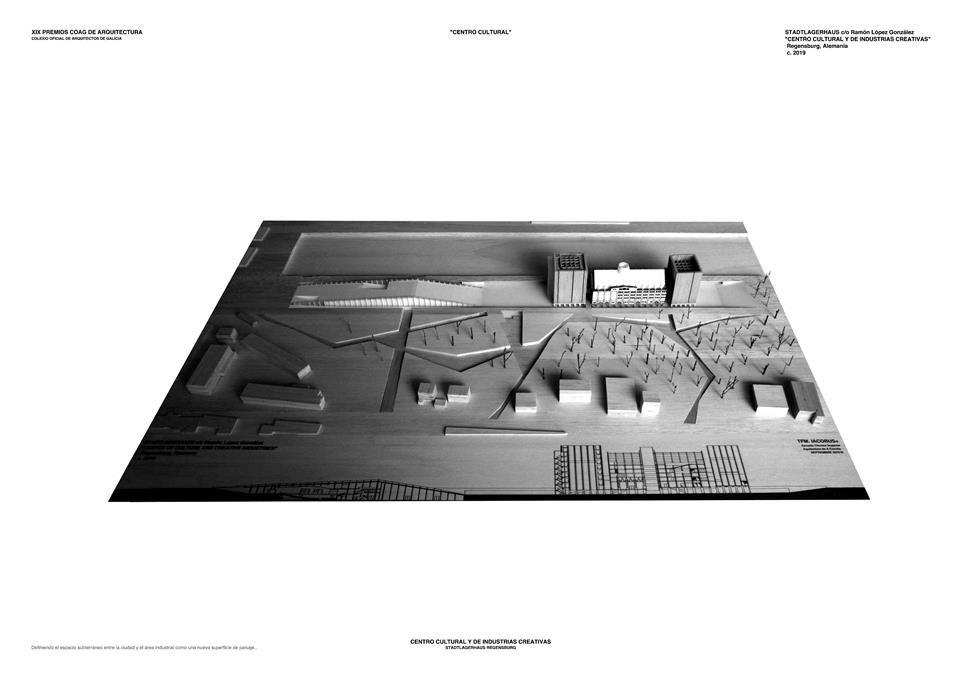 Categoría Proyecto Fin de Carrera. CENTRO CULTURAL Y DE INDUSTRIAS CREATIVAS STADTLAGERHAUS, Regensburgh, Alemania. Ram�n L�pez 3.jpg