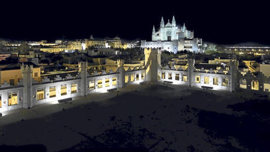 Wieder Mondschein-Führungen in Palmas alter Seehandelsbörse