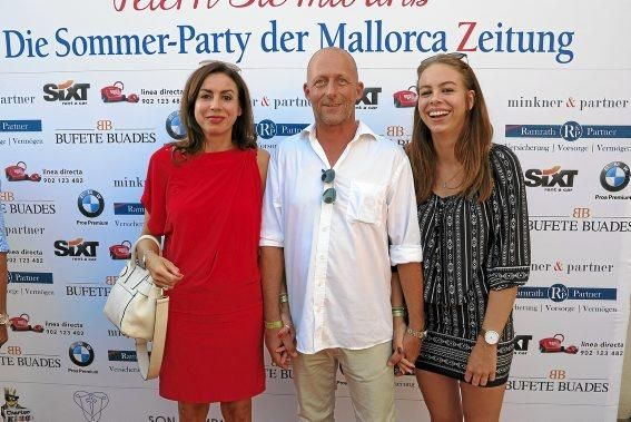 Carolin Schorn, Walter Breidenbach und Lisa Hafer